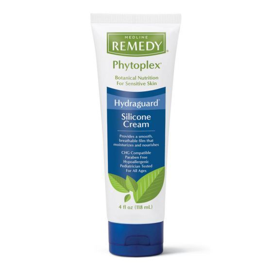 Premium 24% silicone blend cream creates a breathable, water-resistant film over skin as it moisturizes, nourishes and helps skin resist moisture loss Reduces the appearance of red, cracked and scaly skin while soothing dry skin Botanical formulation is rich in oleosomes -- naturally encapsulated safflower oils that release over time Use on hands, face and body; also great for perineal care Gentle enough for use on the most fragile skin of all ages Pediatrician tested, hypoallergenic, paraben-free, CHG compatible One 4-oz. tube (naturally scented vanilla)